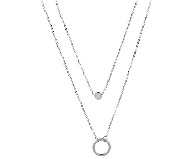 48ddb7e16 Troli Dvojitý náhrdelník s krúžkovými prívesky z ocele | Vivantis.sk ...