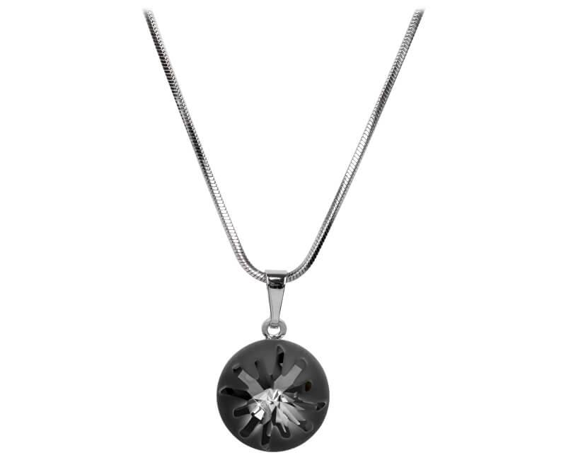 6356648ae Troli Náhrdelník Sea Urchin Silver Night   Vivantis.sk - Od kabelky ...