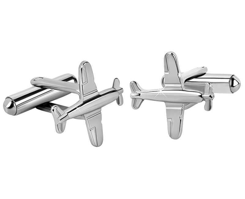 Troli Ocelové manžetové knoflíčky Letadla