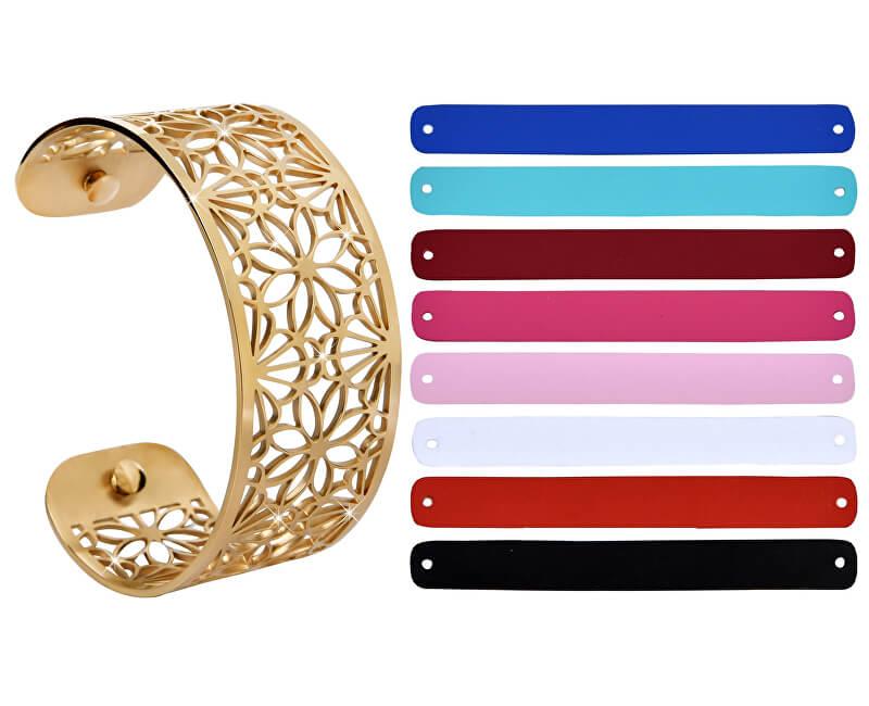 Troli Ocelový náramek s vyměnitelnými barvami 31 mm XI.