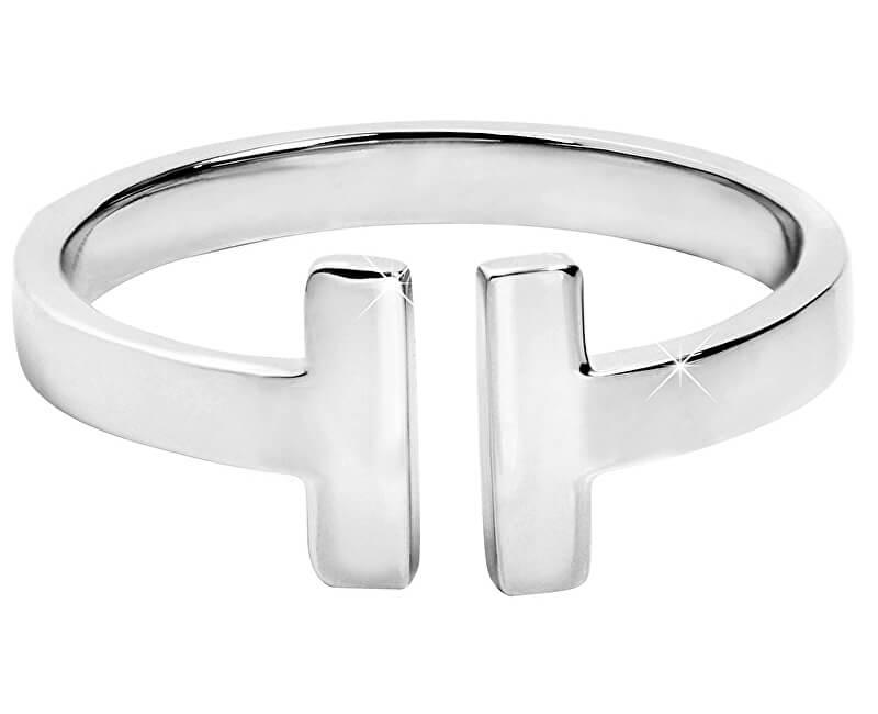 Troli Otevřený ocelový prsten pro ženy