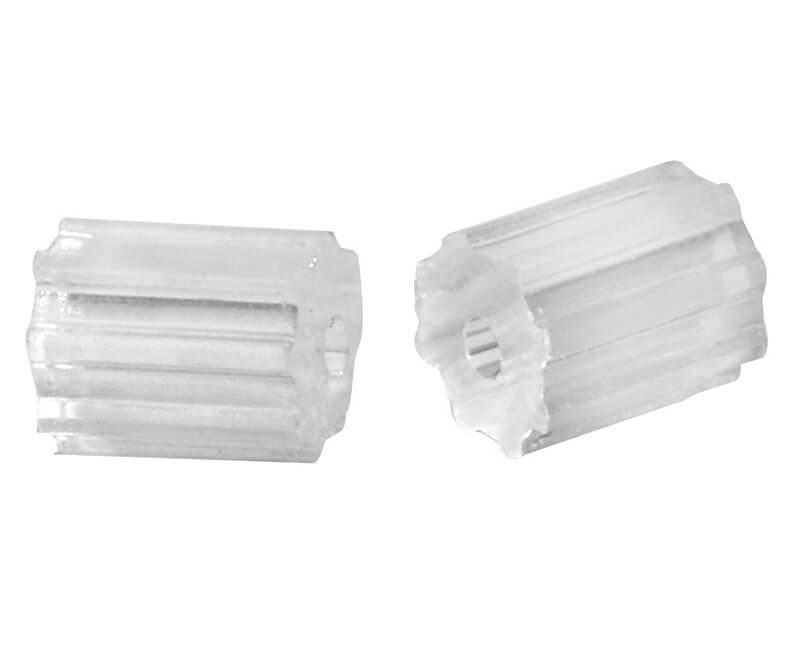 Troli Plastový uzávěr váleček na dříkové náušnice - 3 páry
