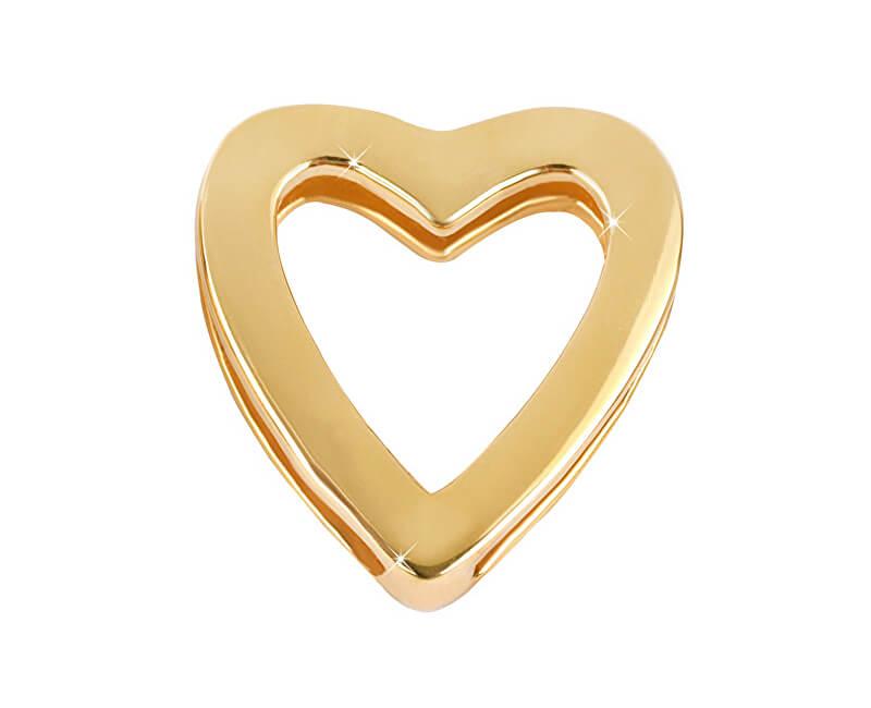 b534743cd Aranyozott medál szív egyedi pendant