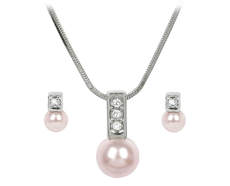 Troli Sada náhrdelníku a náušnic Pearl Caorle Rosaline