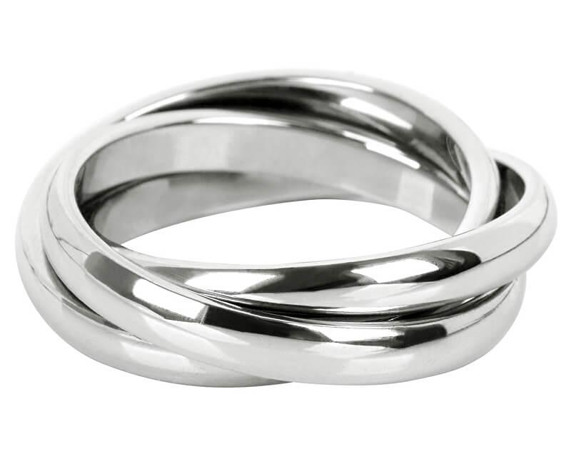 Troli Trojitý oceľový prsteň KRS-247