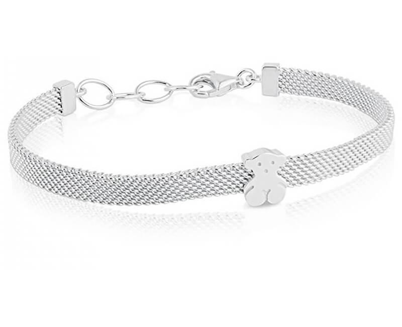 Tous Argintiu bratara ursuleț de pluș 011900410