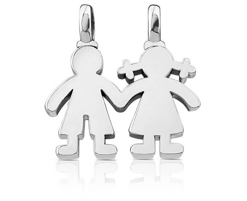 Tous Pandantiv de argint Băiat și fetiță 115904500