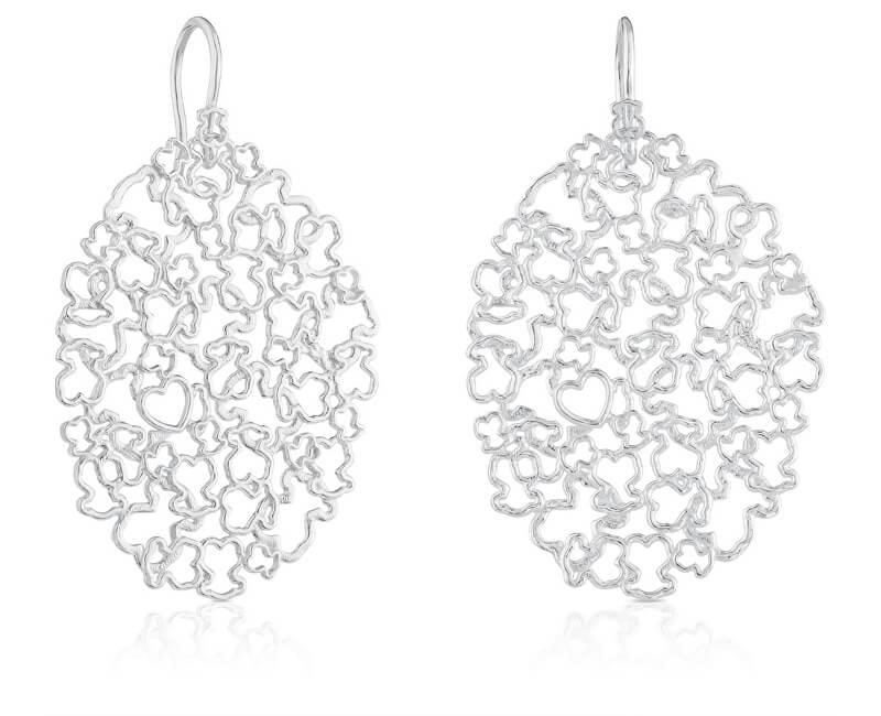 Tous Cercei de argint distinctiv 415443510