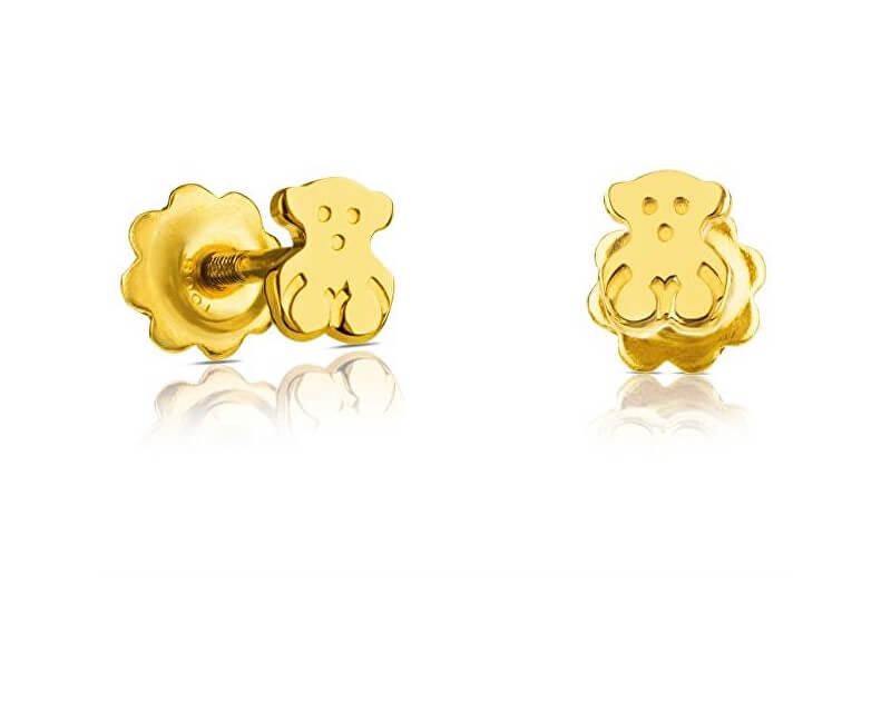 Tous Cercei de aur cu urs 511003000