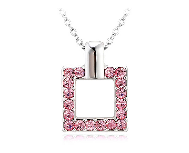 Vicca® Náhrdelník Square Pink OI_107023_pink