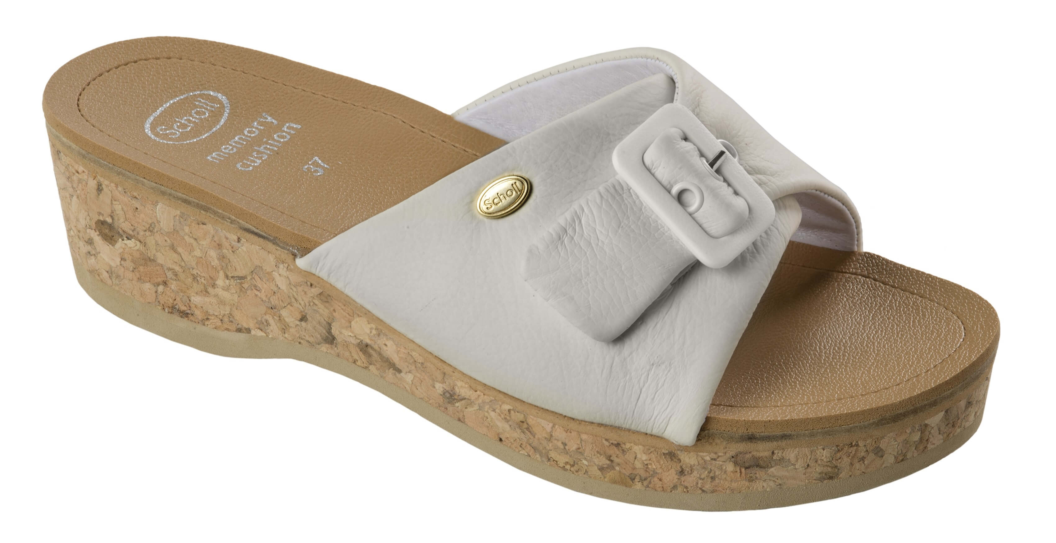 Scholl Zdravotní obuv WAPPY Lea - bílá Doprava ZDARMA  359c1f1b00