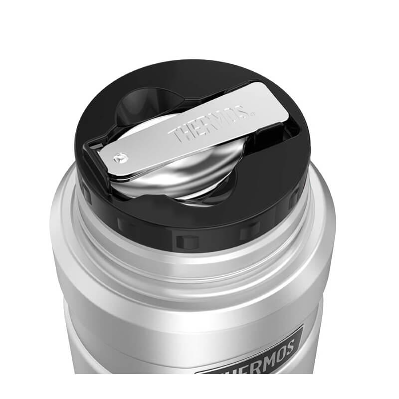 Novinka. Thermos Style Termoska na jedlo sa skladateľná lyžicou a šálkou -  nerez 470 ml 0e64dc56ea0