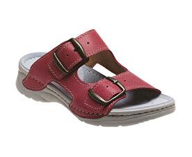 Zdravotní obuv dámská D 10 C30 SP světle červená. SANTÉ c228e379af