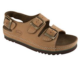Zdravotní obuv AIR BAG BACK STRAP nub-U - hnědá. Scholl 79948dffe2e