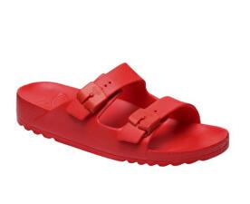 Scholl Zdravotná obuv Bahia - červená 253cf1e068a