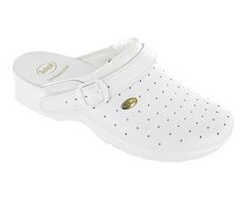 Zdravotní obuv CLOG RACY Byc-U - bílá - SLEVA - drobně ušpiněné podrážky.  Scholl 55180f3c76