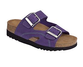 Scholl Zdravotní obuv MOLDAVA WEDGE AD - fialová mátová d6de23af565