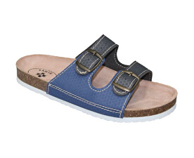 Zdravotní obuv dámská D 21T 910 925 BP šedo-modrá. SANTÉ 06cf95f4fa