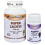 Super Lecitin s dolomitem a vitamíny B2, B6 100 tob. + Activin 30 tbl. ZDARMA