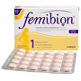 Femibion 1 s vitamínem D3 bez jódu 60 tbl.