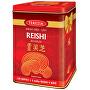 Reishi Bio 120 kapslí + Reishi v kávě 2 ks - dárkové balení v plechové dóze
