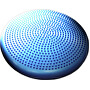 Podložka gumová čočka s výstupky modrá 35 cm