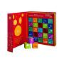 Adventní kalednář - kniha červená BIO 25 pyramidek - SLEVA - poškozený igelitový obal