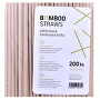 Bambusové brčko 8 mm x 23 mm bag 200 ks