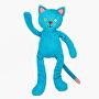 Cherry Belly - nahřívací plyšová hračka Modrý kocour