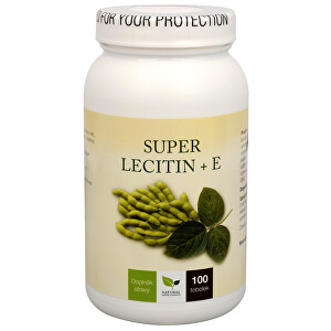 Super Lecitin + E 100 tob.
