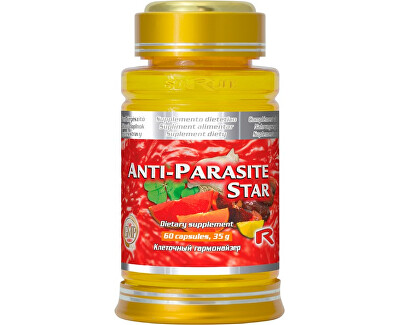 ANTI-PARASITE STAR 60 kapslí