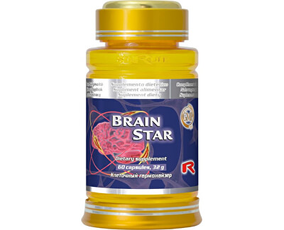 STARLIFE BRAIN STAR 60 kapslí