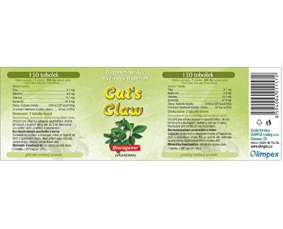 Cat´s Claw (Uncaria tomentosa, Vilcacora) 150 tob. + 50 tob. ZDARMA