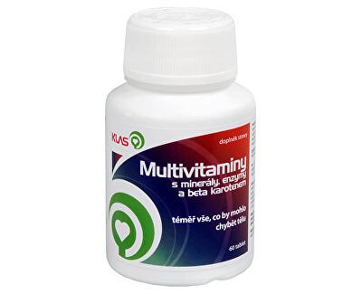 Multivitamíny plus minerály a enzymy 60 tbl.