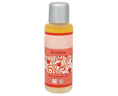 Corp și de masaj bio petrol - 50 ml Erotica