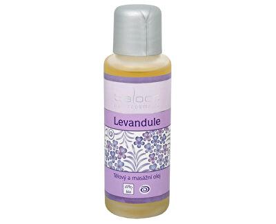 Bio tělový a masážní olej - Levandule