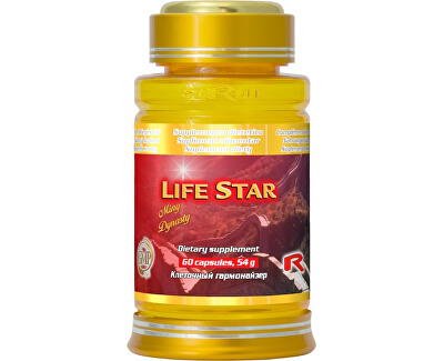LIFE STAR 60 kapslí