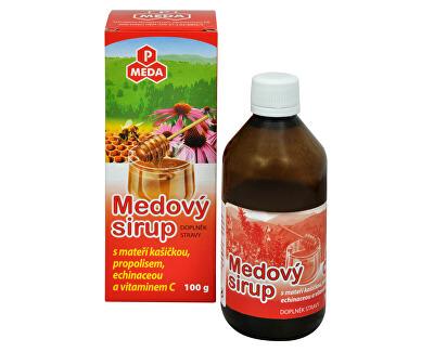 Purus Meda PM Medový sirup s mateří kašičkou, propolisem, echinaceou a vitamínem C 100 g