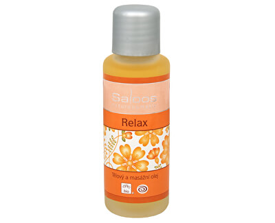 Bio tělový a masážní olej - Relax