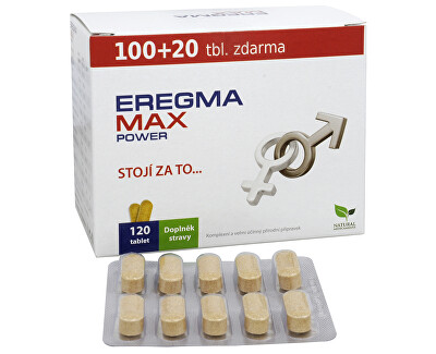 Natural Medicaments Eregma MAX power 100 tbl. + 20 tbl. ZD ARMA