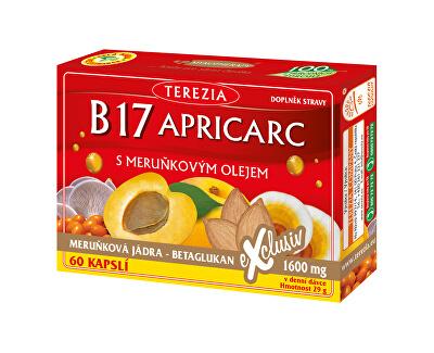 Terezia Company B17 APRICARC s marhuľovým olejom 50 kapsúl + 10 kapsúl ZADARMO