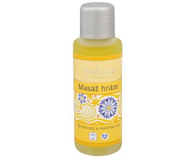 Saloos Bio Masáž hráze - těhotenský a mateřský olej 50 ml
