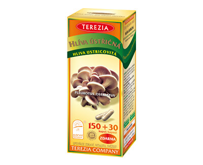 Terezia Company Hliva ustricová 150 kapsúl + 30 kapsúl ZADARMO