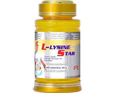 STARLIFE L-LYSINE 500 STAR 60 kapslí