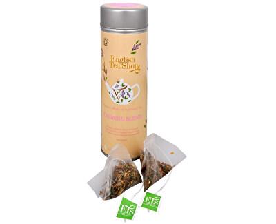 English Tea Shop Čaj Zklidňující směs - plechovka s 15 bioodbouratelnými pyramidkami