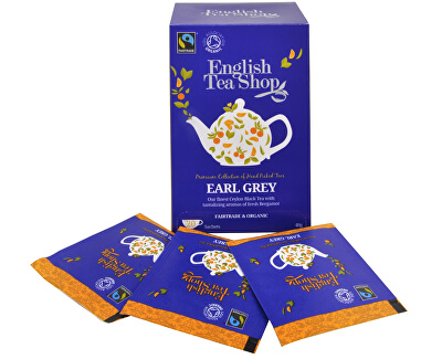 English Tea Shop Černý čaj Earl Grey s bergamotem 20 sáčků
