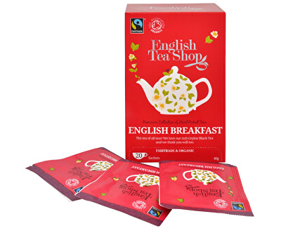 English Tea Shop Černý čaj English Breakfast 20 sáčků