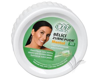 Eva Cosmetics EVA bieliaci zubný púder (mentol) 30 g