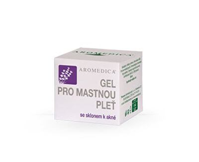 Aromedica Gel pro mastnou pleť se sklonem k akné 50 ml