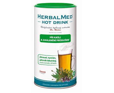 HerbalMed băutură fierbinte Dr.. Weiss - tuse, bronhiilor 180 g
